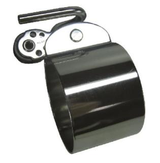 Unterliek-Schelle aus Edelstahl mit 16mm Harken Block, nicht Original