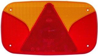Lichtscheibe SBB-Leuchte mit integriertem Dreieck Hella