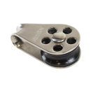19 mm Fallblock für Optimist Silber Riggs Optiparts