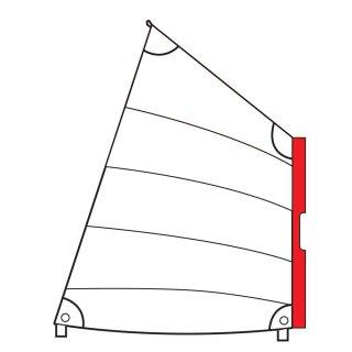 Optiparts Stülp-Segel Weiß