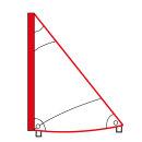 Segel Stülp-Segel Dreieck Optiparts