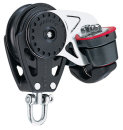 H2615 Harken Carbo Block mit Cam-Matic Curryklemme 57mm