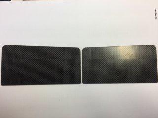 Carbon Lenzklappen Set  420er
