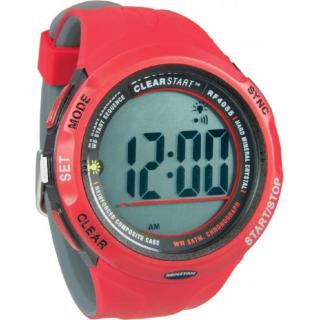 Uhr Segeluhr ClearStart™, 50mm, rot grau Ronstan