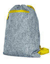 Gymsac Miami grey Melange/yellow