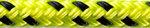 Orion 500, 6 mm, neon-gelb/schwarz