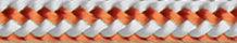 Dinghy Control 3 mm weiss/orange