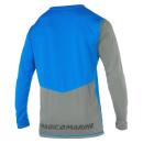 Magic Marine Top Cube Quickdry L/S Blau