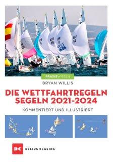 """Buch """"Wettfahrtregeln Segeln 2021 - 2024, Kommentiert und illustriert"""""""