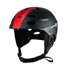 Helm Comb Helmet schwarz/rot Rooster