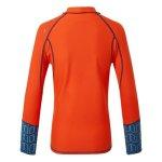 """Shirt Nylon Langer Arm """"Pro Rash Vest"""" Junior Orange Gill"""